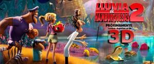 LLUVIA DE HAMBURGUESAS 2 3D
