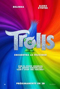 trolls poster 3d